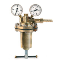 Regulador de presión de gas / monoetapa / de alta presión / de laboratorio
