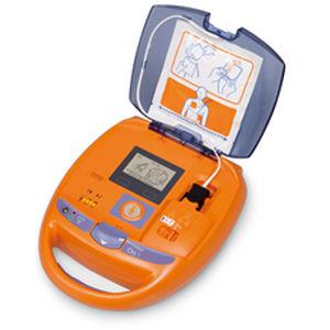 desfibrilador externo automático / para espacio público / inalámbrico / con monitor de ECG