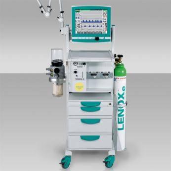 carro de anestesia / 4 cajones / con portacilindros de oxígeno / modular