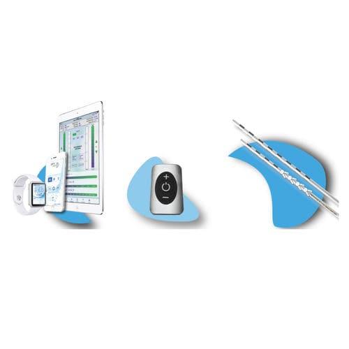neuroestimulador implantable / para la estimulación de los nervios periféricos / inalámbrico
