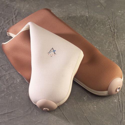 manguito para prótesis de pierna