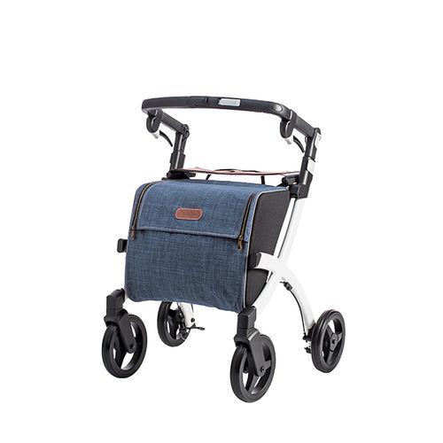 andador con ruedas 4 ruedas / con asiento