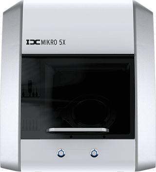 fresadora CAD CAM / para odontología / 5 ejes / mecanizado en seco