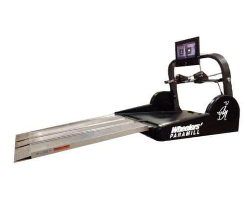 cinta de correr para usuario de silla de ruedas