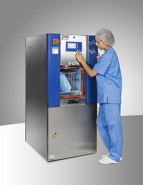 Esterilizador de residuos clínicos / de vapor / de pie S100 RBE Matachana