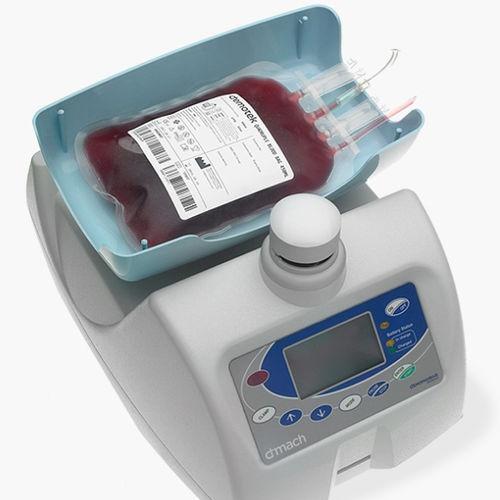 monitor estándar de recogida de sangre