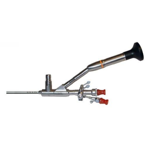 ureteronefroscopio / con dos canales operativos / de ángulo