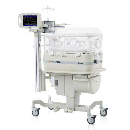 incubadora neonatal con ruedas / con monitor