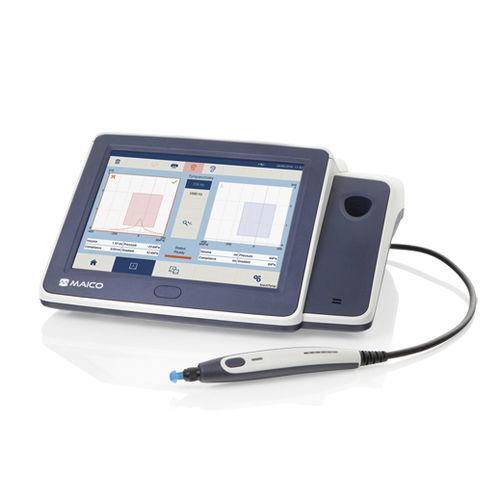 Comprobador de reflejos / timpanómetro de detección / timpanómetro de diagnóstico / audiometría para adultos touchTymp MI 24 MAICO Diagnostic
