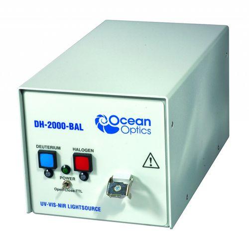 fuente de luz para espectrómetro UV-Vis-NIR / deuterio halógeno