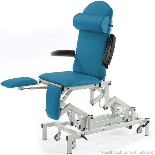 sillón de reconocimiento general / podológico / para cirugía menor / dermatológico
