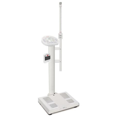 analizador de la composición corporal por bioimpedancia / para medición de la grasa / con pantalla LCD / con cálculo del IMC