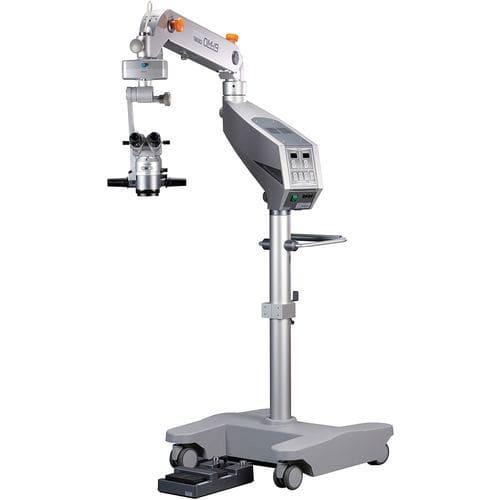 microscopio de cirugía oftálmica / con ruedas