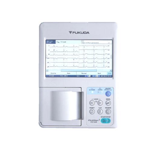 electrocardiógrafo 3 canales / digital / con impresora / con pantalla