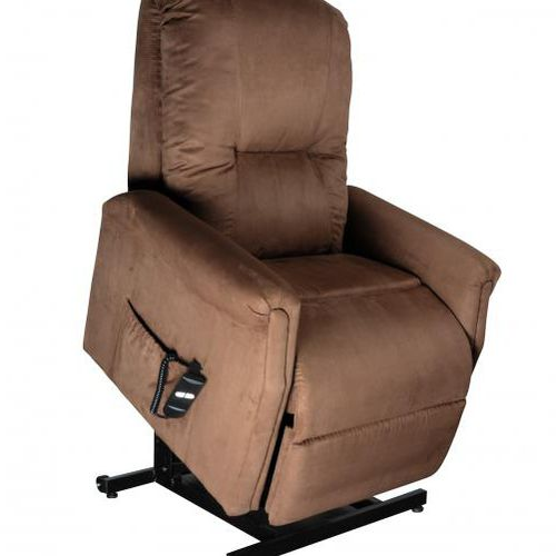 sillón levantapersonas / reclinable / con reposapiernas / eléctrico