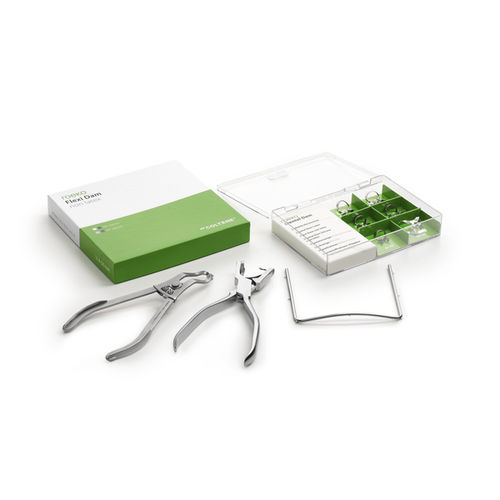 kit de instrumentos para odontología