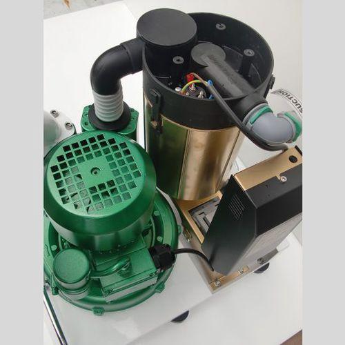 bomba de vacío de rotor / para odontología / médica / de tipo seco