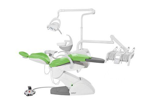 Unidad de tratamiento dental con sillón electromecánico / con portainstrumentos / con luz Gnatus G8 H Gnatus