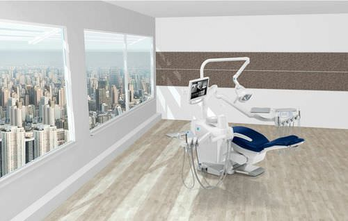 Unidad de tratamiento dental con portainstrumentos / con luz / con monitores S300 STERN WEBER