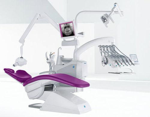 Unidad de tratamiento dental con portainstrumentos / con luz / con monitor S300 STERN WEBER