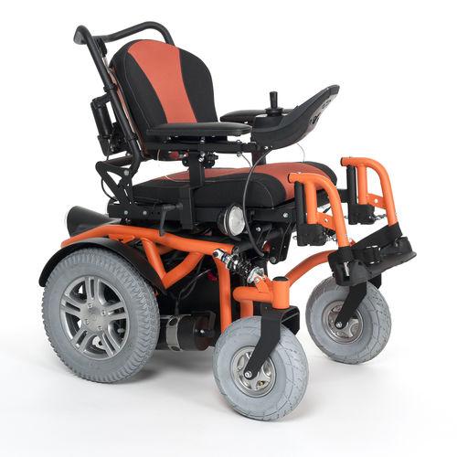 silla de ruedas eléctrica / de exterior / de interior / reclinable