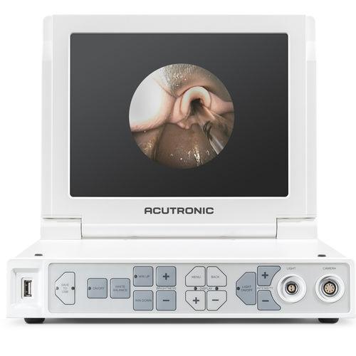 procesador de vídeo de laringoscopia / con monitores de vídeo