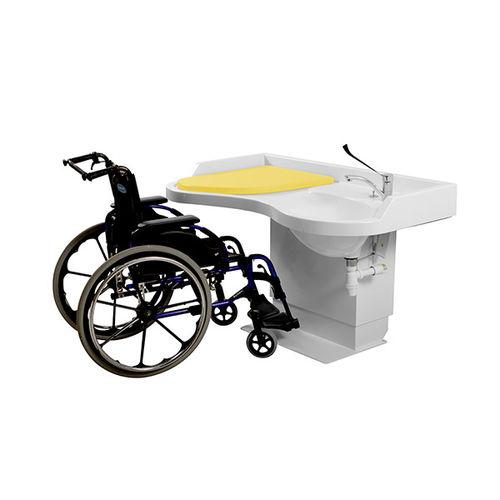 mueble cambiador para personas con movilidad reducida - Loxos
