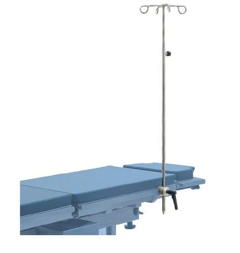 portasueros de anclaje / 4 ganchos / para mesa de operaciones