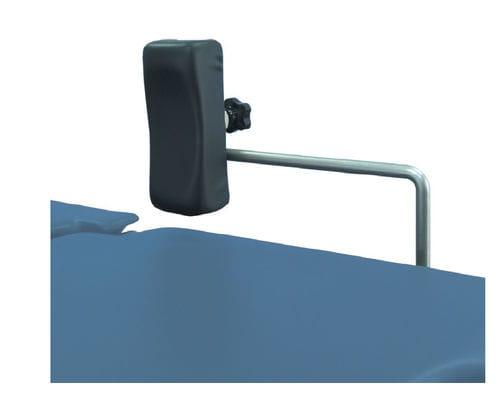 soporte lateral / soporte para espalda / para mesa de operaciones