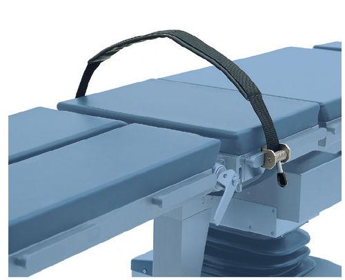 correa de fijación para mesa de operaciones / del cuerpo / de pierna