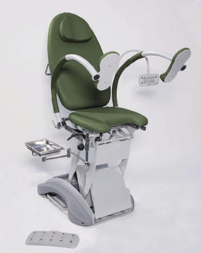 mesa de exploración ginecológica / para urología / eléctrica / elevadora
