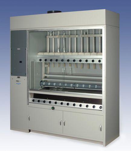 sistema de digestión de laboratorio / tipo Kjeldahl / con sistema de destilación