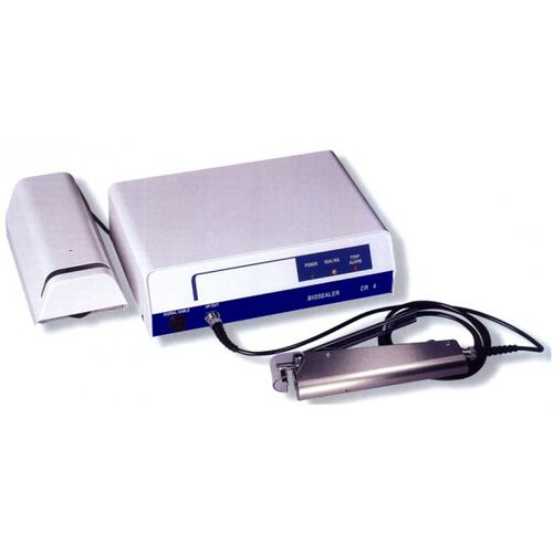 sellador térmico de tubos de bolsas de sangre / automático / de mesa