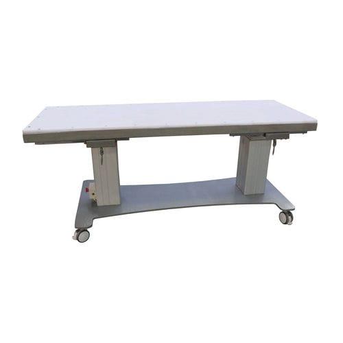 mesa para angiografía de altura regulable / basculante