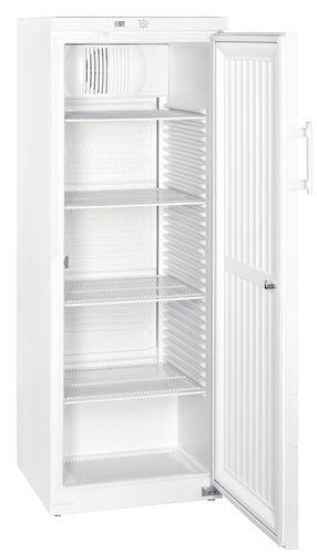 refrigerador de laboratorio / de tipo armario / de acero inoxidable / con 1 puerta
