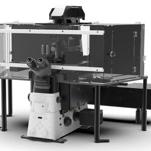microscopio de laboratorio / óptico / TIRF / SIM