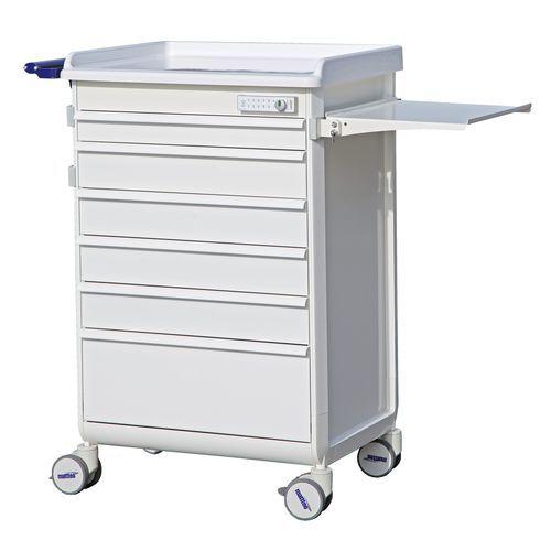 carro para cuidados / con cajón / modular