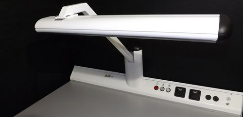 lámpara de laboratorio dental / led / de mesa