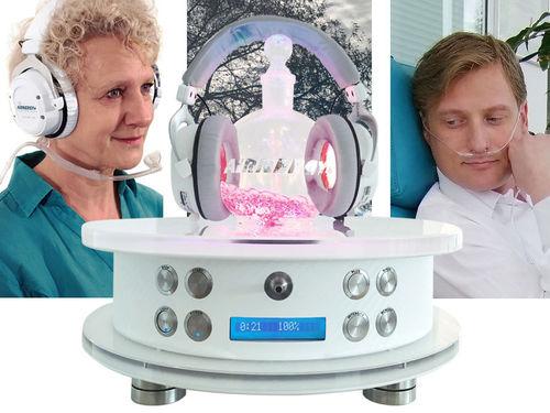 unidad de terapia espirovital de mesa / bronquitis / problemas dermatológicos