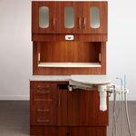 armario para clínica dental / con estantes / con cajón / con puerta