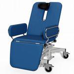 sillón de reconocimiento de ORL / de oftalmología / eléctrico / con ruedas