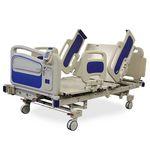 cama de hospital / eléctrica / ajustable en altura / con sistema de bloqueo de las ruedas