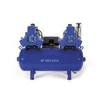 compresor para odontología / para fresadora / con secadores de aire / de membrana