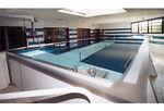 piscina de rehabilitación sobre suelo