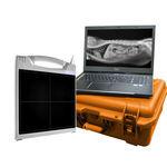 Panel detector plano para radiografía veterinaria / portátil DR-3500C Diagnostic Imaging Systems