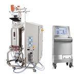 biorreactor de laboratorio / para la fermentación microbiana / de un solo uso