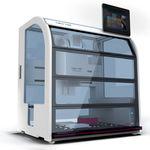 estación de trabajo de laboratorio automatizada / por pipeteo / compacta