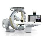 sistema de fluoroscopia / digital / para fluoroscopia cardiovascular / con amplificador de brillo fijado al suelo