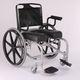 silla de ruedas manual / para ducha / con reposapiernas / con orinal