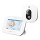monitor de bebé de vídeo / audio